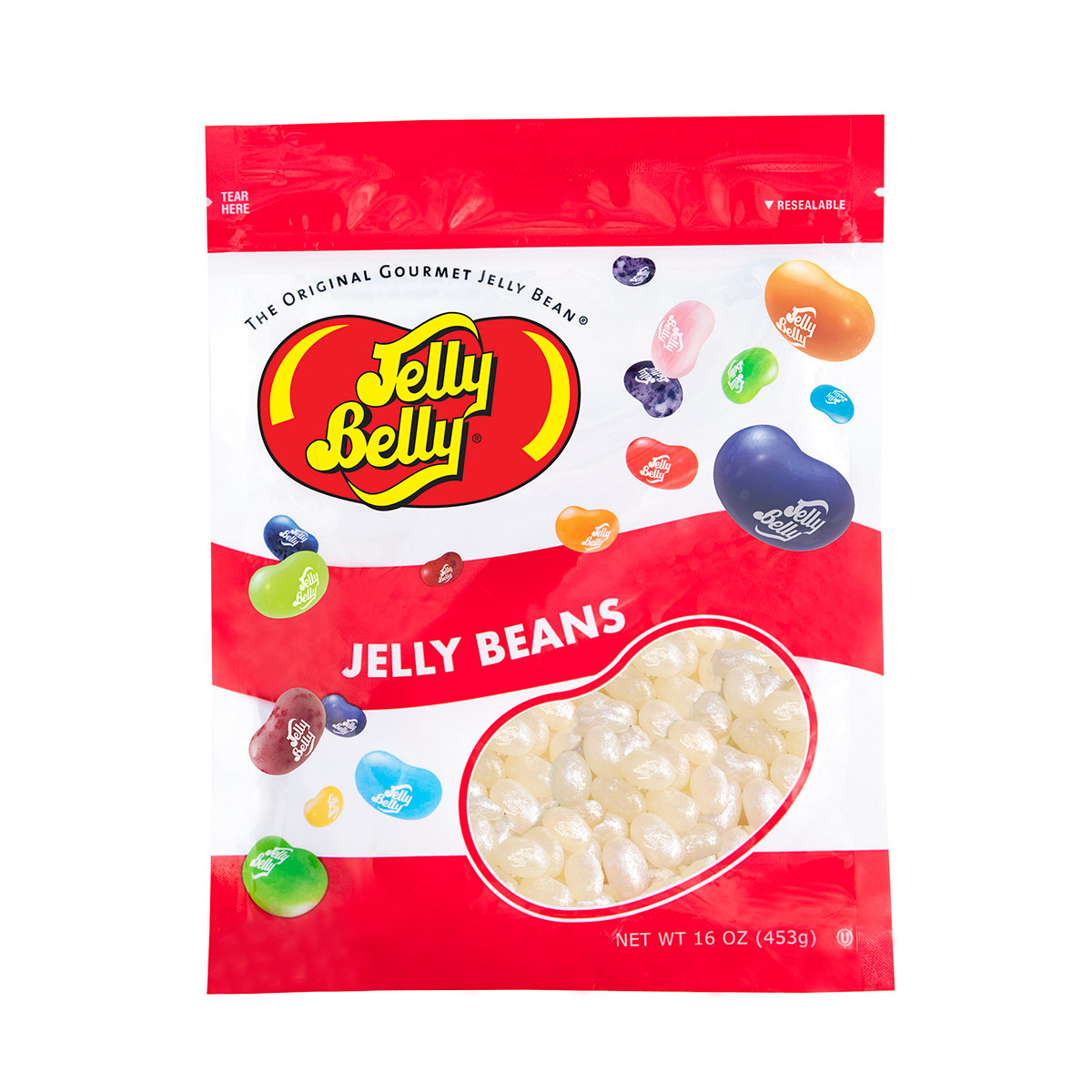 Jewel Cream Soda Jelly Beans - 16 oz Re-Sealable Bag