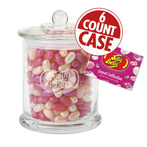 Jewel Collection Candy Jar - 6 Count Case