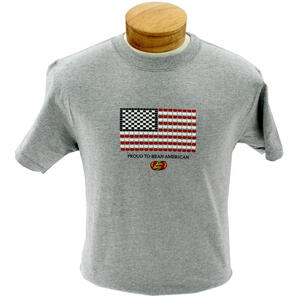 Proud to Bean American T-shirt - Extra Large