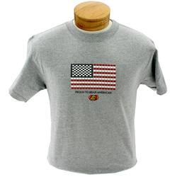 Proud to Bean American T-shirt - Small