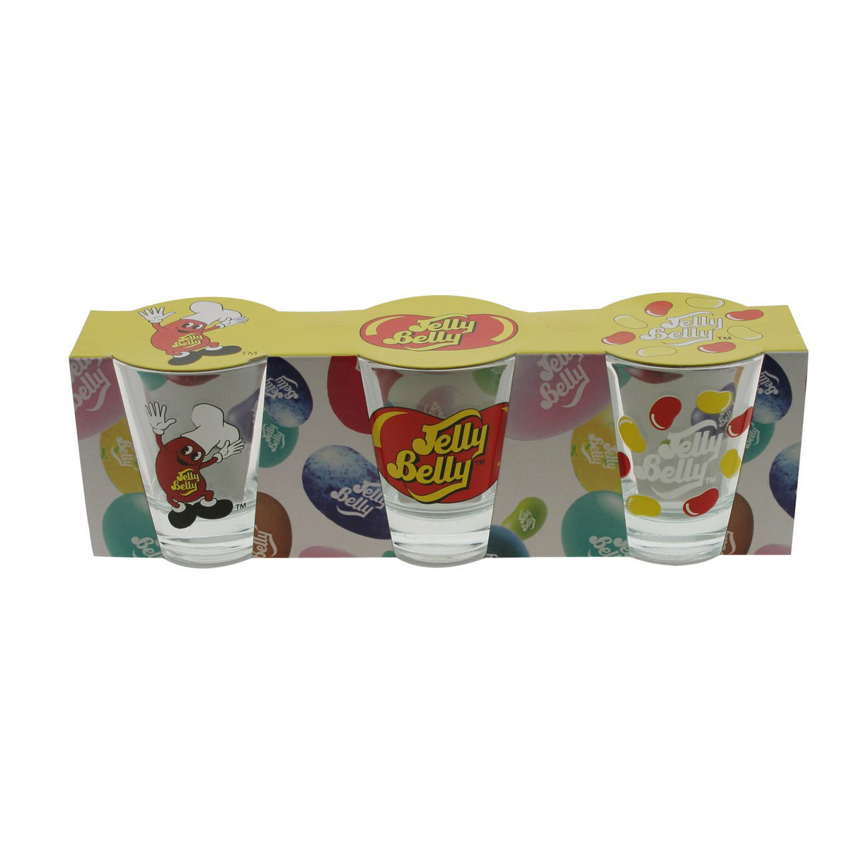 Jelly Belly Shot Glasses - 3 Pack