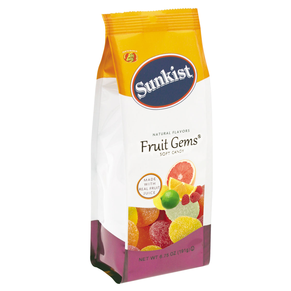 Sunkist<sup>®</sup> Fruit Gems<sup>®</sup> - 6.75 oz. Gift Bag