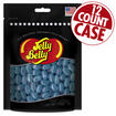 Berry Blue Jelly Beans Party Bag - 7.5 oz Bag - 12 Count Case