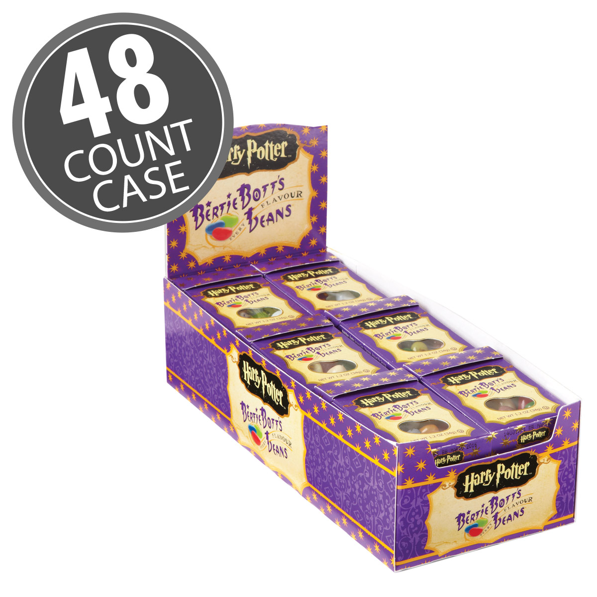 Harry Potter™ Bertie Botts Every Flavour Beans - 1.2 oz Box - 48-Count Case