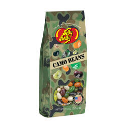 Camo Jelly Beans - 7.5 oz Gift Bag