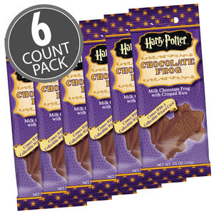 Harry Potter Chocolate Frog - 0.55 oz - 6 Pack