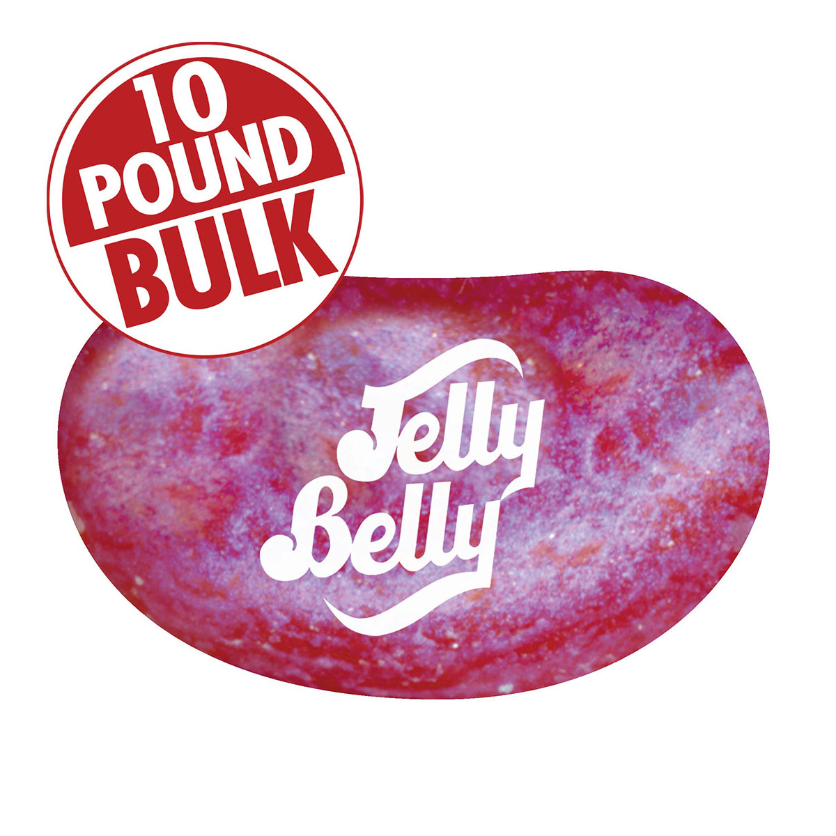 Jewel Very Cherry Jelly Beans - 10 lb Bulk Case