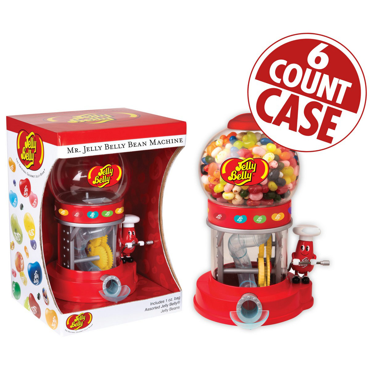 Mr. Jelly Belly Bean Machine - 6 Count Case