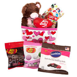 Lovable Bear Valentine's Day Gift Box