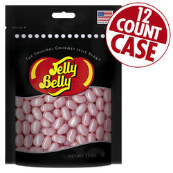 Bubble Gum Jelly Beans Party Bag - 7.5 oz Bag - 12 Count Case