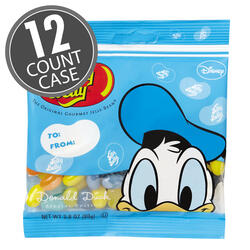 Donald Duck Jelly Beans - 2.8 oz Bag - 12 Count Case