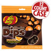 Jelly Bean Chocolate Dips<sup>&reg;</sup> - Orange - 2.8 oz Bag - 12 Count Case