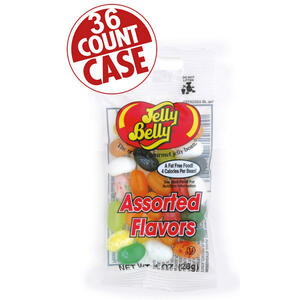 20 Assorted Jelly Bean Flavors - 1 oz. bags - 36-Count Case
