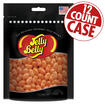 Jewel Orange Jelly Beans Party Gift Bag - 7.5 oz - 12 Count Case