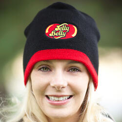 Jelly Belly Black Beanie