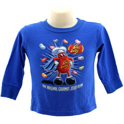 Mr. Jelly Belly Superbean Toddler Long-Sleeve T-shirt - Size 3