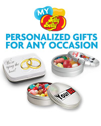 Jelly Belly personalized gifts