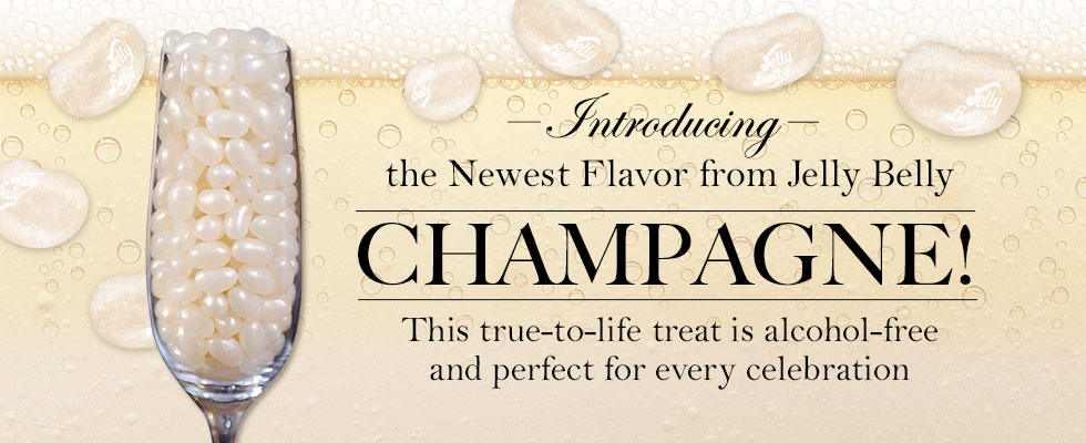 Jelly Belly Champagne Flavor Jelly Beans