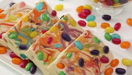 Jelly Belly Swirl Bark Birthday Recipe