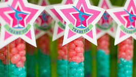 Gymnastics Birthday Party Idea
