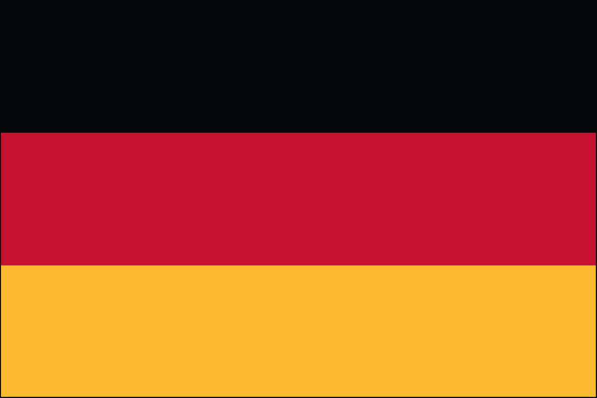German  Flag. Link Clicks to German Jelly Belly Site