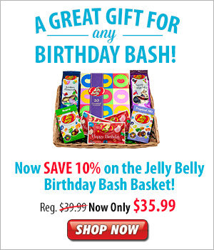 Jelly Belly Birthday Bash Basket