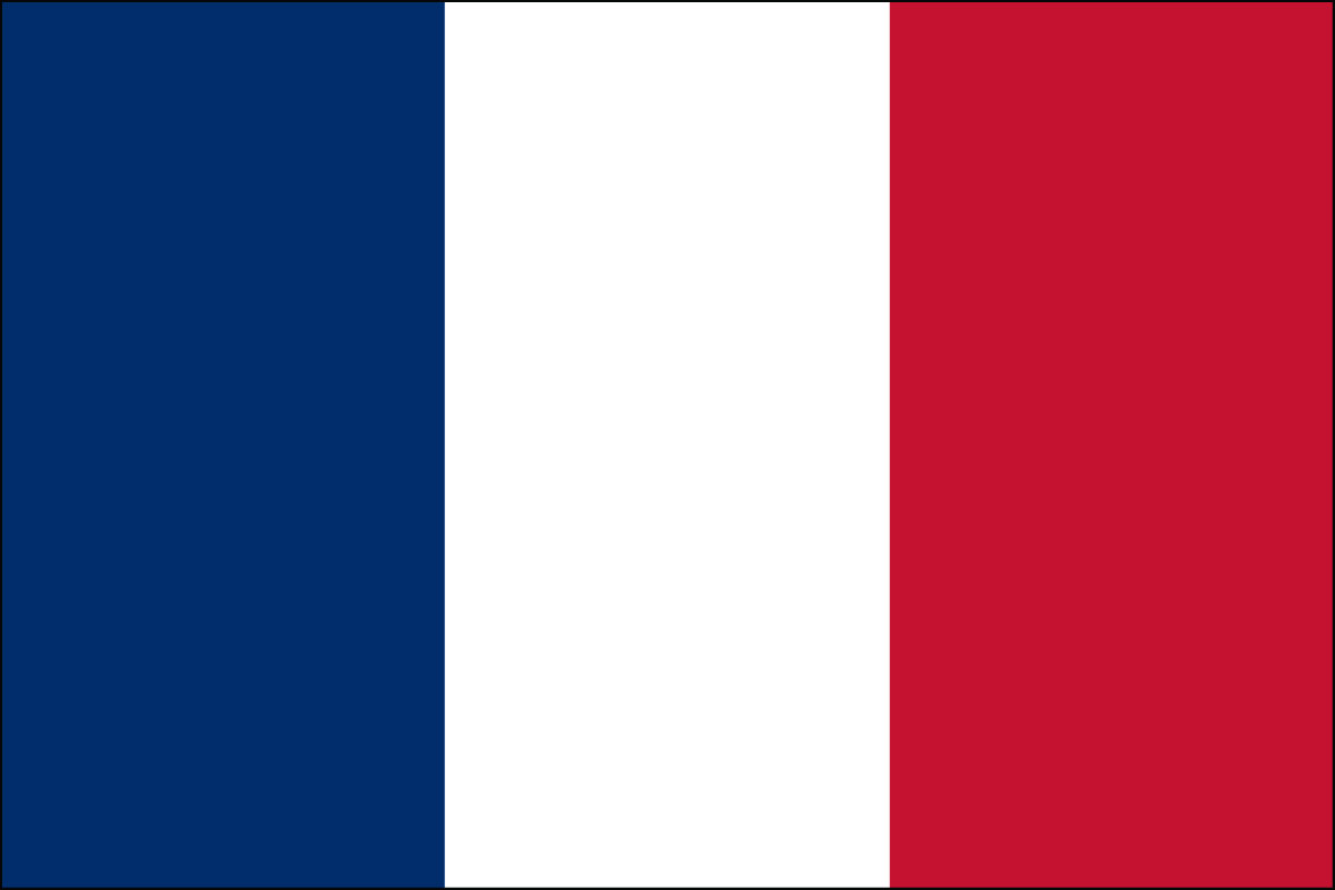 French Flag. Link Clicks to French Jelly Belly Site