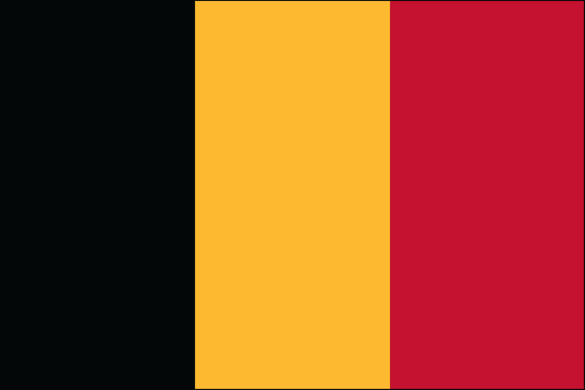 Belguim Flag. Link Clicks to Belguim Jelly Belly Site