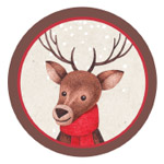Woodland Wonderland Red Printables