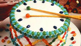 Drum Cake Birthday Recipe