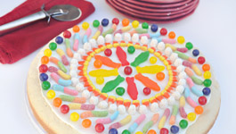 Candy Pizza Cookie Birthday Recipe