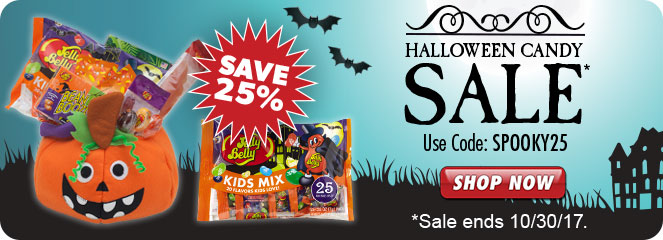 Jelly Belly Halloween product listing page