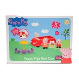 peppa pig's red car set
