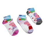 peppa pig socks front