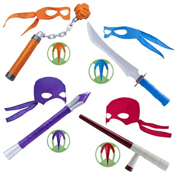 7064024e516 Rise of the Teenage Mutant Ninja Turtles Weapon Role Play Sets ...