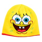 Reversible SpongeBob and Patrick Knit Hat