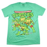 Retro Teenage Mutant Ninja Turtles Tee