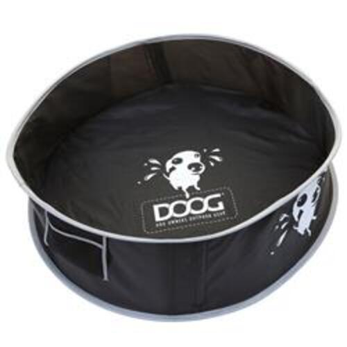 ?Pet Washing Kit By Doog, Medium- 91 Centimeter Diameter x 25 Centimeter Height, Black