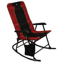 Faulkner 49596 Dakota Rocking Chair Burgundy/Black Image 1