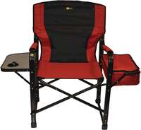 Faulkner 49582 El Capitan Folding Director Chair with Tray and Cooler Bag Image 2