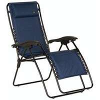 Faulkner 48974 Malibu Style Blue Outdoor Recliner Image 1