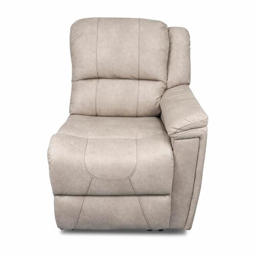 Left Hand Recliner - Heritage Series (Grantland Doeskin) Image 1
