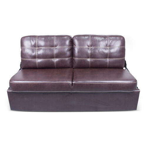 "68"" Jackknife Sofa in Poise Mahogany Image 1"