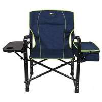 Faulkner 69230 El Capitan Folding Director's Chair with Cooler Image 2