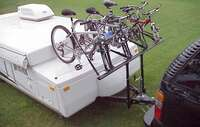 Pop Up Camper 4 Bike Rack