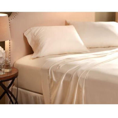 03-1236 - Denver Mattress Sateen King Sheet Set Latte - Image 1