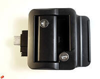 Trimark Style Door Lock - Travel Trailer Lock In Black