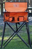 Baby High Chair - Orange