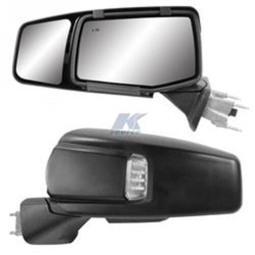 K-Source Snap-on Towing Mirror Set for Chevrolet & GMC Image 1