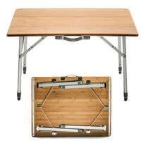 03.7268 - Bamboo Folding Table - Image 1